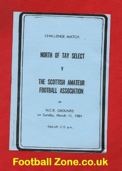 North Tay Select v Scottish Amateur FA 1984