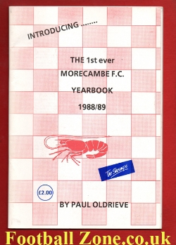 Morecambe Football Club 1st Yearbook - Issue 1 - 1988/89