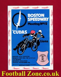 Boston Speedway v Leicester 1981
