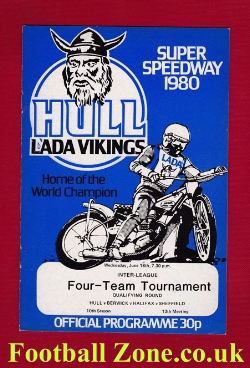 Hull Speedway Four Team Tournament 1980