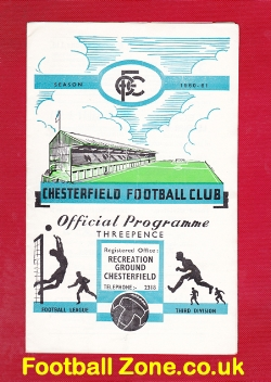 Chesterfield v Grimsby Town 1960