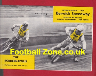 Berwick Speedway The Bordernapolis 1974