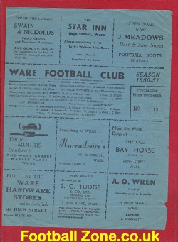 Ware v Harlow Town 1951