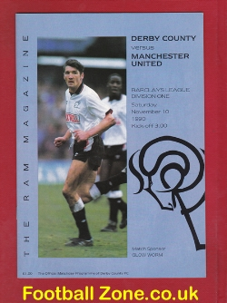 Derby County v Man Utd 1990