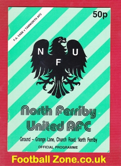 North Ferriby United v Tamworth 1989 - Semi Final