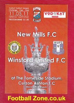 New Mills v Winsford United 2011 - Cup Final