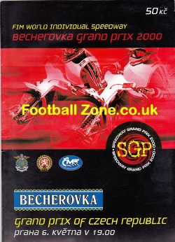 Czech Republic Speedway Grand Prix 2000