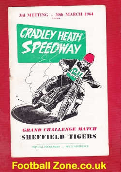Cradley Heath Speedway v Sheffield 1964