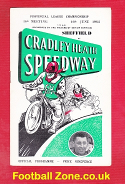 Cradley Heath Speedway v Sheffield 1962