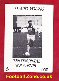 David Young Testimonial Benefit Match Northwich Victoria 1991