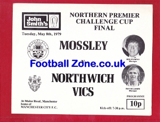 Mossley v Northwich Victoria 1979 - Challenge Cup Final