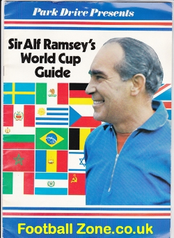 Alf Ramsey World Cup 70 - Guide Book 1970