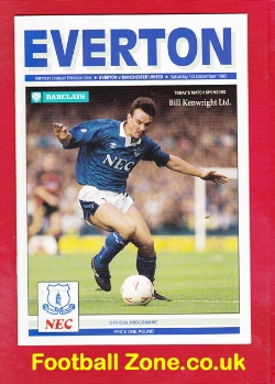 Everton v Man Utd 1990