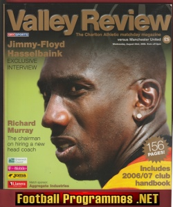 Charlton Athletic v Man Utd 2006 - Special Issue