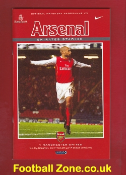 Arsenal v Man Utd 2007