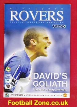 Blackburn Rovers v Man Utd 2006