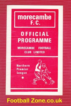 Morecambe v Fleetwood Town 1973 - Watney Cup