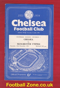 Chelsea v Man Utd 1953 - The Young Busby Babes