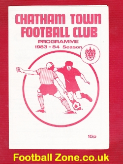 Chatham Town v Dartford 1983 - Southern League