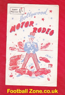 America Hollywood Motor Rodeo Stocks + Motorbikes 1956 - USA