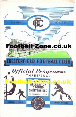 Chesterfield v Grimsby Town 1959