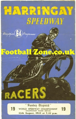 Harringay Speedway Meeting 1953