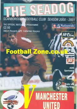 Scarborough v Man Utd 2000