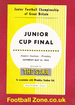 Army v National Boys Clubs 1956 - Junior Cup Final at Wembley
