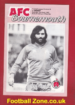 Bournemouth v Orient 1983 - George Best