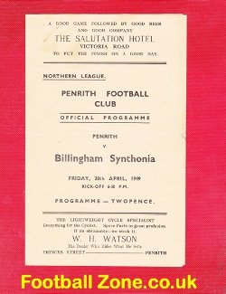 Penrith v Billingham Synthonia 1949