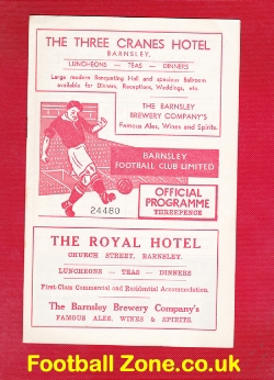 Barnsley v Doncaster Rovers 1956 - March