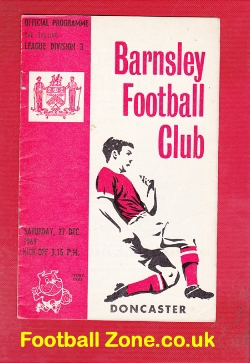 Barnsley v Doncaster Rovers 1969