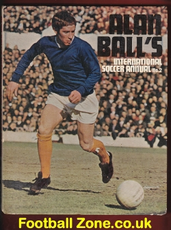 Alan Ball Soccer Football Annual 1970