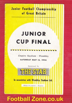 Army Cadets v Boys 1956 - Junior Cup Final London