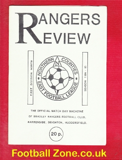 Bradley Rangers v North Ferriby 1985