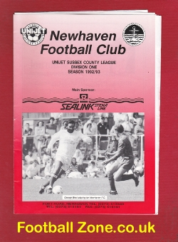 Newhaven v Whitehawk 1993 - George Best