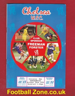 Chelsea Women v Berkhamsted 1994