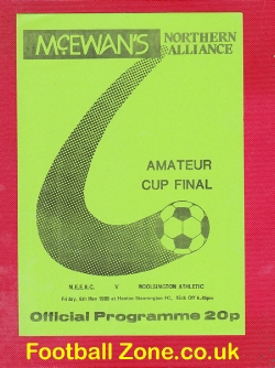NEERC v Woolsington Athletic 1989 - Amateur Cup Final