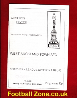 West Auckland Town v Horden Colliery Welfare 1991