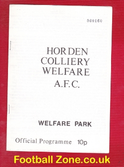 Horden Colliery Welfare v Blyth Spartans 1980