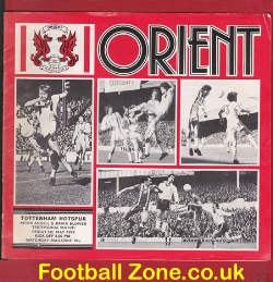 Brian Blower Peter Angell Testimonial Benefit Leyton Orient 1978