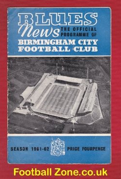 Birmingham City v Ipswich Town 1962 - League Champions