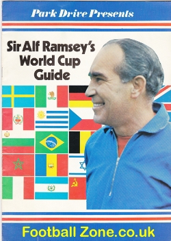 Alf Ramsey World Cup Guide Book 1970