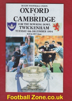 Oxford Rugby v Cambridge 1994