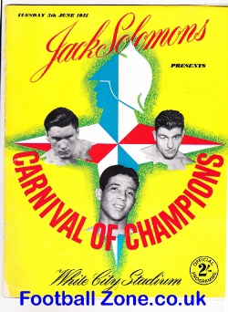 Boxing - Carnival Of Champions at White City 1951