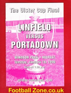 Linfield v Portadown 1996 - Irish Cup Final