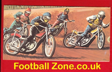 Hull Speedway Multi Signed Birthday Card 1970s