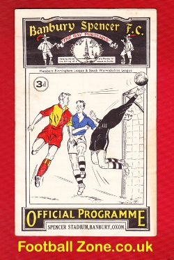 Banbury Spencer v Boldmere St Michael 1955 - at Dudley Town