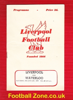 Liverpool Rugby v Waterloo 1957