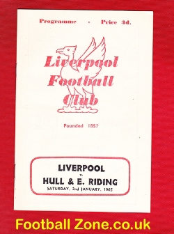 Liverpool Rugby v Hull East Riding 1965
